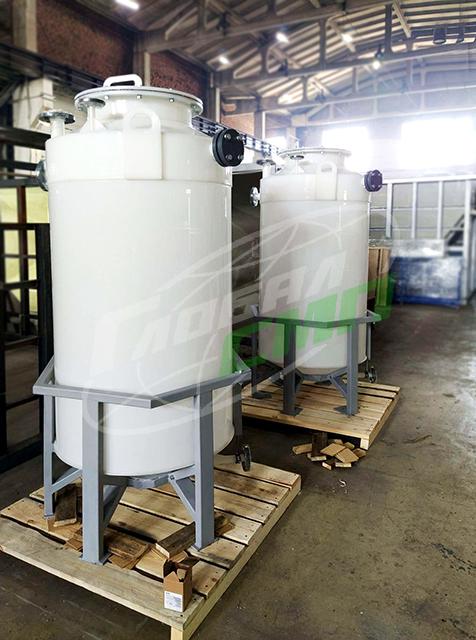 Емкости для кислот из PVDF