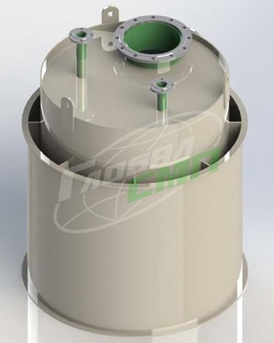 Ёмкость для азотной кислоты