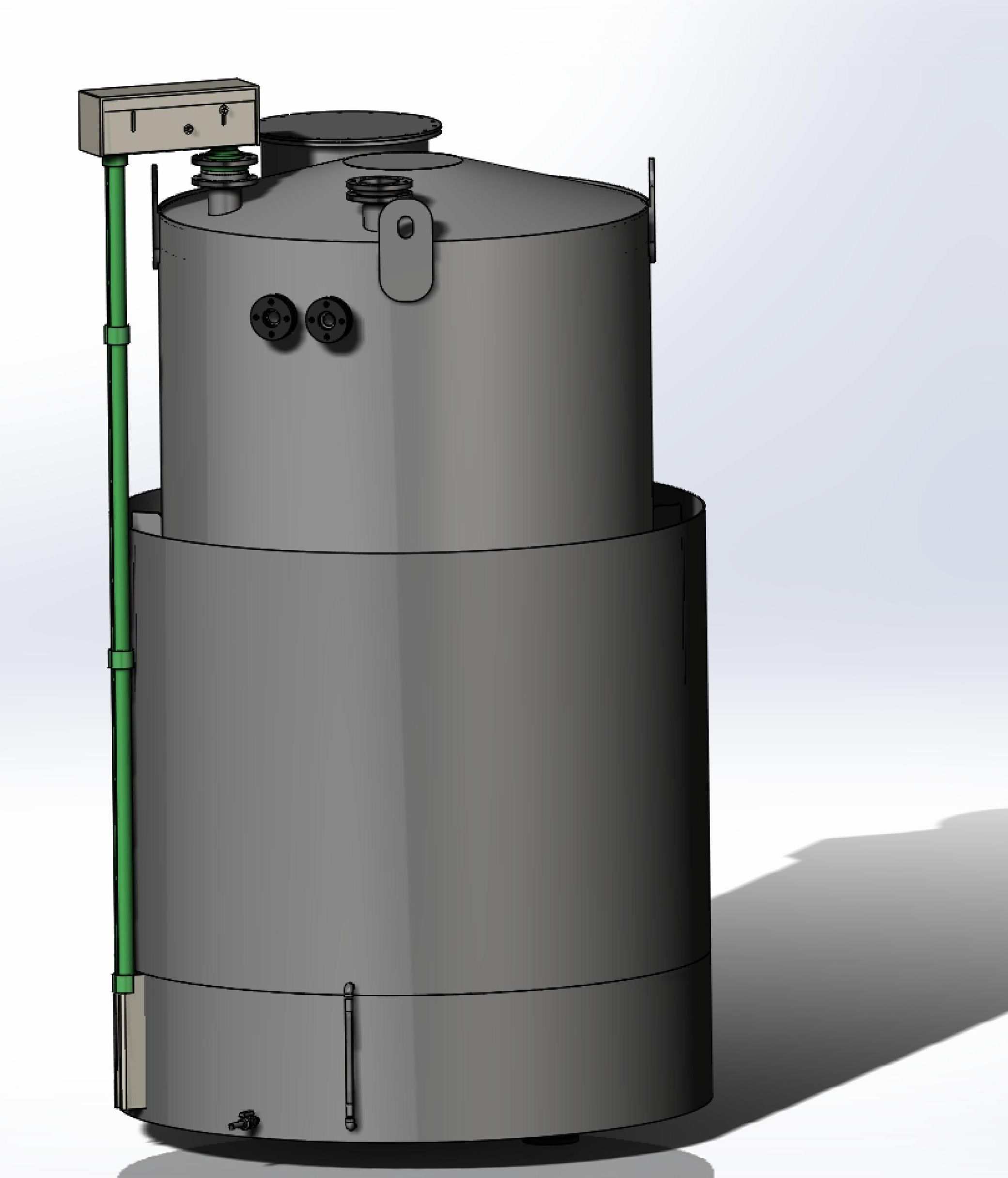 Резервуар для азотной кислоты