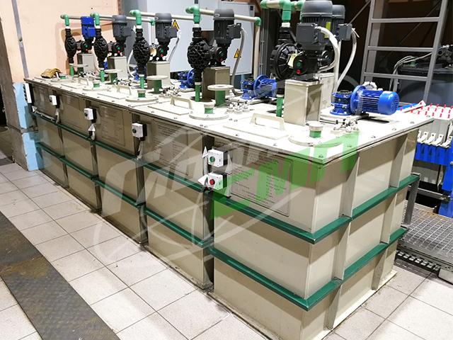 Химические реакторы для подготовки электролита