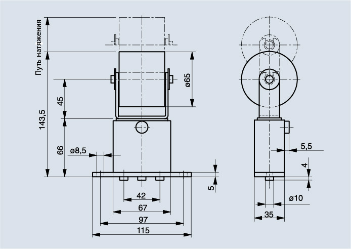 Схема Spann-Box РАЗМЕР 1