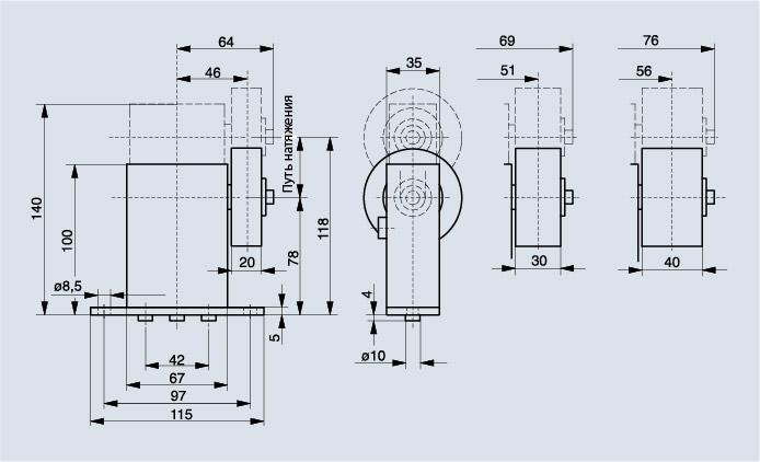 Схема Spann-Box® ТИП SR-S