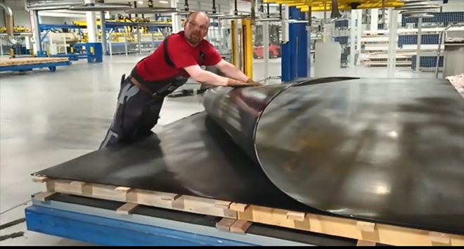Гибкий полимер для защиты аэролодки