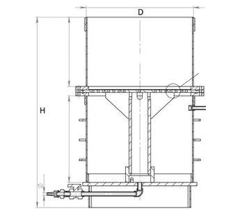 Нутч-фильтр полипропиленовый | С встроенным приёмником фильтрата,  32