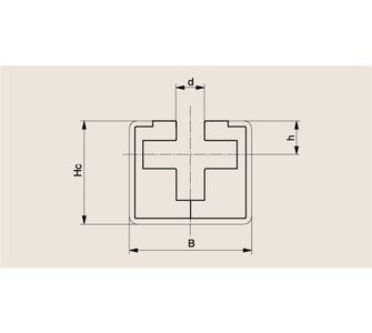 Направляющая круглозвенной цепи Тип CRG, Направляющая CRG