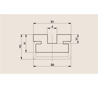 Направляющая круглозвенной цепи Тип CRU, Направляющая CRU