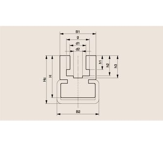 Направляющая роликовой цепи Тип CK, Направляющая CK
