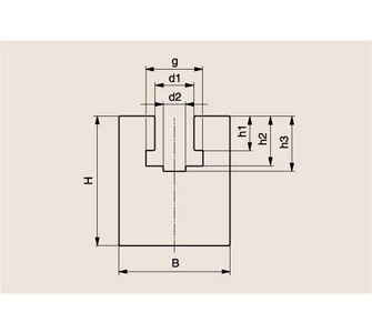 Направляющая роликовой цепи Тип K, Направляющая K