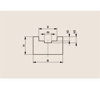 Направляющая роликовой цепи Тип U, Направляющая U