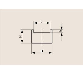Направляющая роликовой цепи Тип TU, Направляющая TU