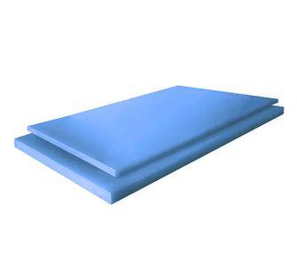 Листы полипропилена PP-C 4000 х 1500 mm. голубой,  5