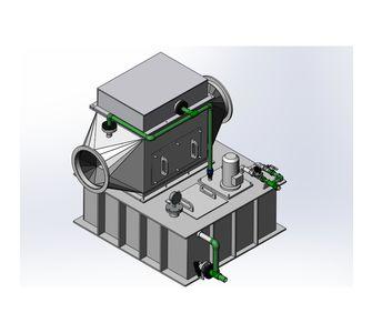 Газопромыватель полипропиленовый | производительность 2000-12500 м3/ч,  10000-12500