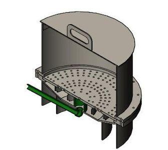 Нутч-фильтр полипропиленовый | Для выносного приемника фильтрата,  85